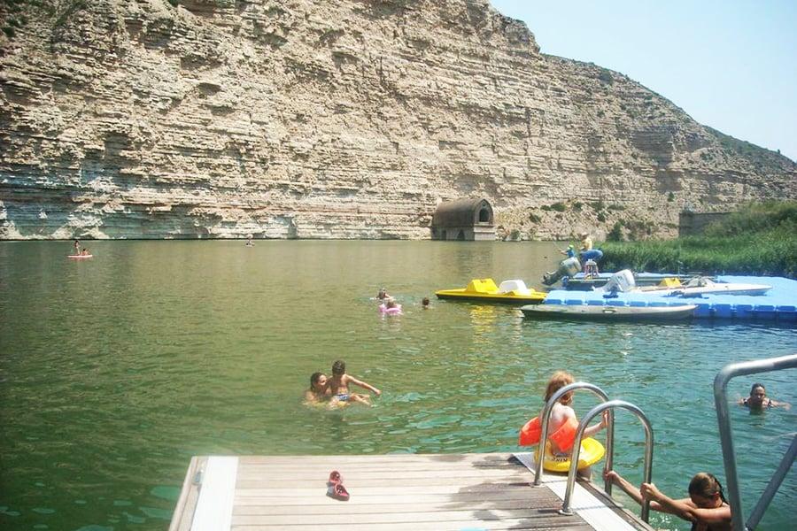 Desembocadura riu Matarranya a l'Ebre